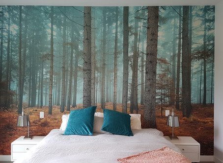 Bedroom Forest Wallpaper