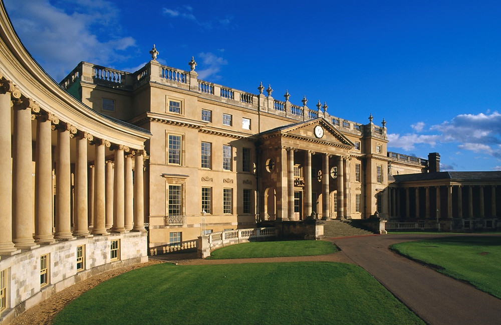 Stowe School, Palladian architecture, Andrea palladio, gary paul, classical architecture, English Home, classic farm house
