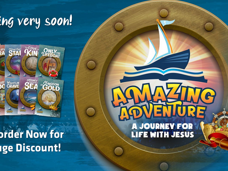 Amazing Adventures Study Guides Coming Soon!