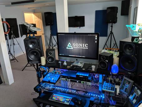 Sonic Trinity Studios now has space!