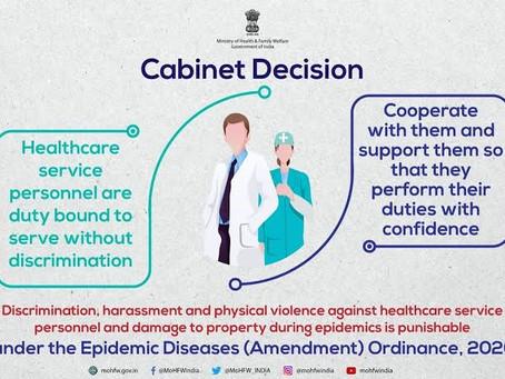 THE EPIDEMIC DISEASES (AMENDMENT) ORDINANCE 2020