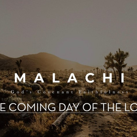 The Book of Malachi | Chapter 4