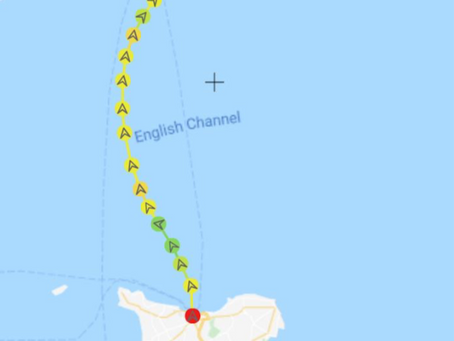Crossing the English Channel