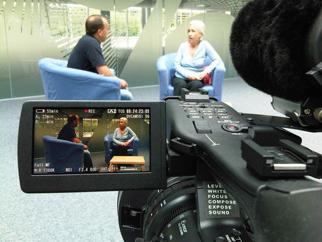 5  tips for shooting Interviews