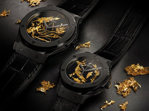 Hublot launches the Classic Fusion Gold Crystal