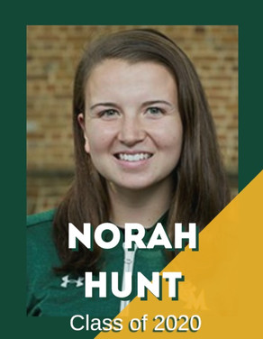 Norah Hunt, Class of 2020