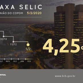 "COPOM reduce nuevamente ""Taxa SELIC"" ¿Será que eso nos afecta?"