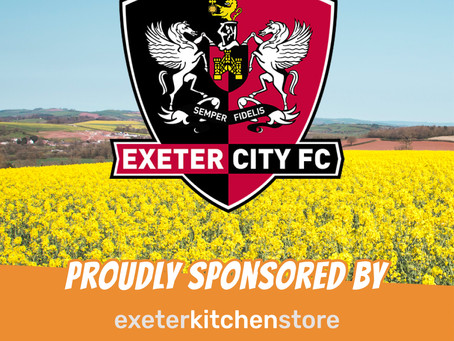 Proudly Sponsoring Exeter City FC