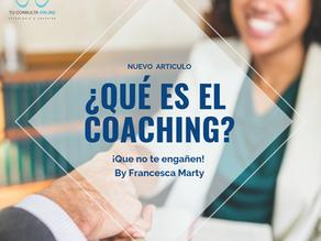 ¿Qué es el coaching?¡Que no te engañen!