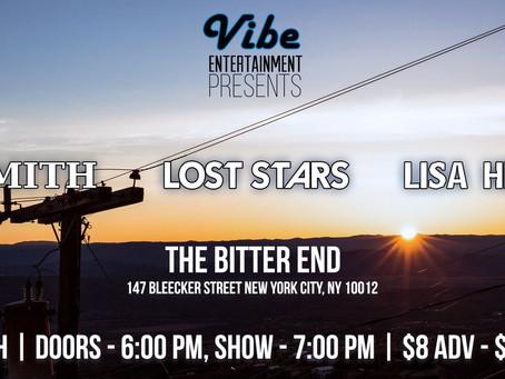 Lisa Heller LIVE @ The Bitter End 03/08/2018