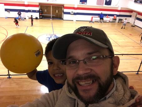 Basketball practice!