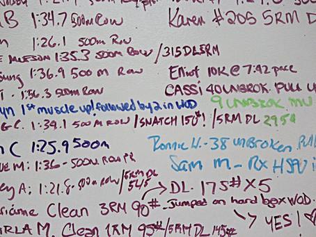 CrossFit Glossary