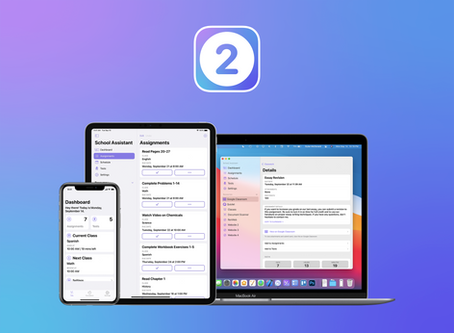 School Assistant Version 2 Now Available