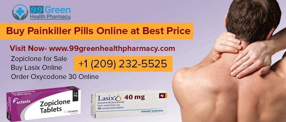 Buy Painkiller Pills Online at Best Price | 99 Green Health Pharmacy