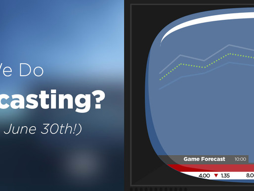 Did You Know We Do Game Forecasts?