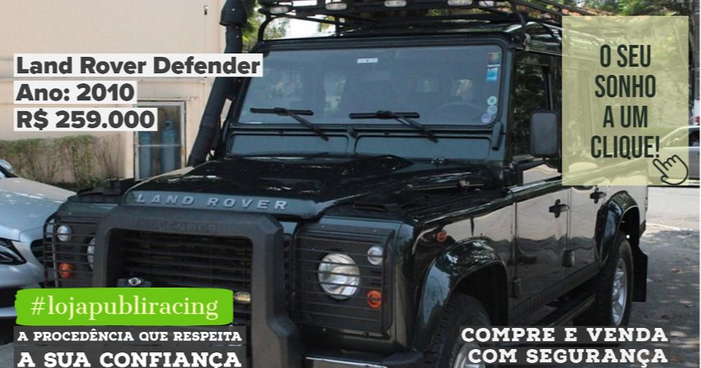 ACESSE #LOJA CLICANDO - Land Rover Defender - Ano 2010