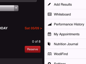 How to Reserve a Class via Wodify