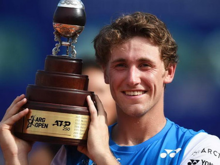 RUUD (NOR) WINS 1ST TITLE IN BUENOS AIRES