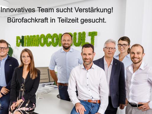 Erfolgreiches, innovatives Team sucht Bürofachkraft (m/w/d) in Teilzeit. (Stellung wurde belegt)