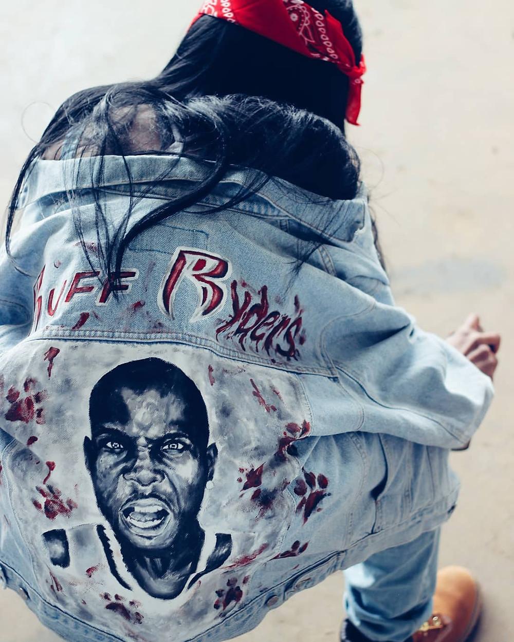 Ruff Ryders customized jacket