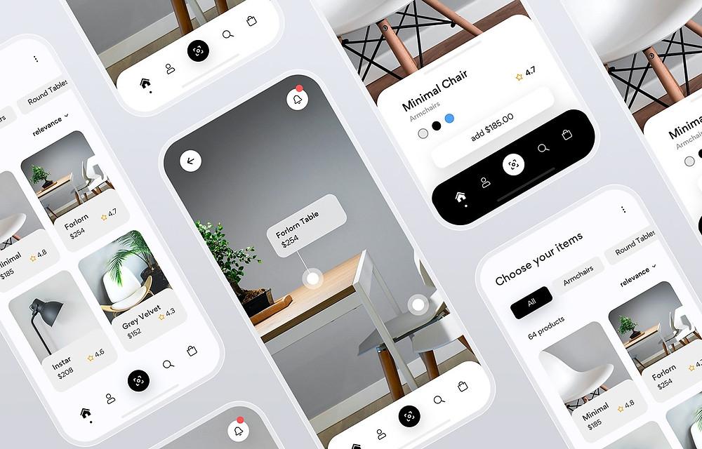 Furniture Website Design