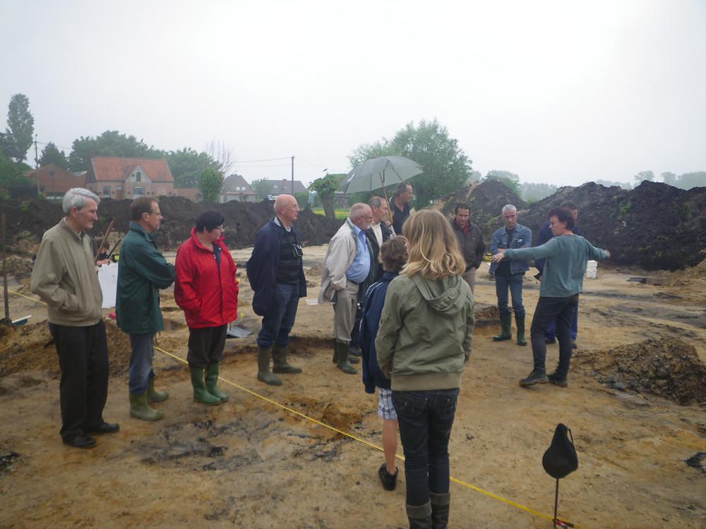 Opgravingen Haverbilken in 2010