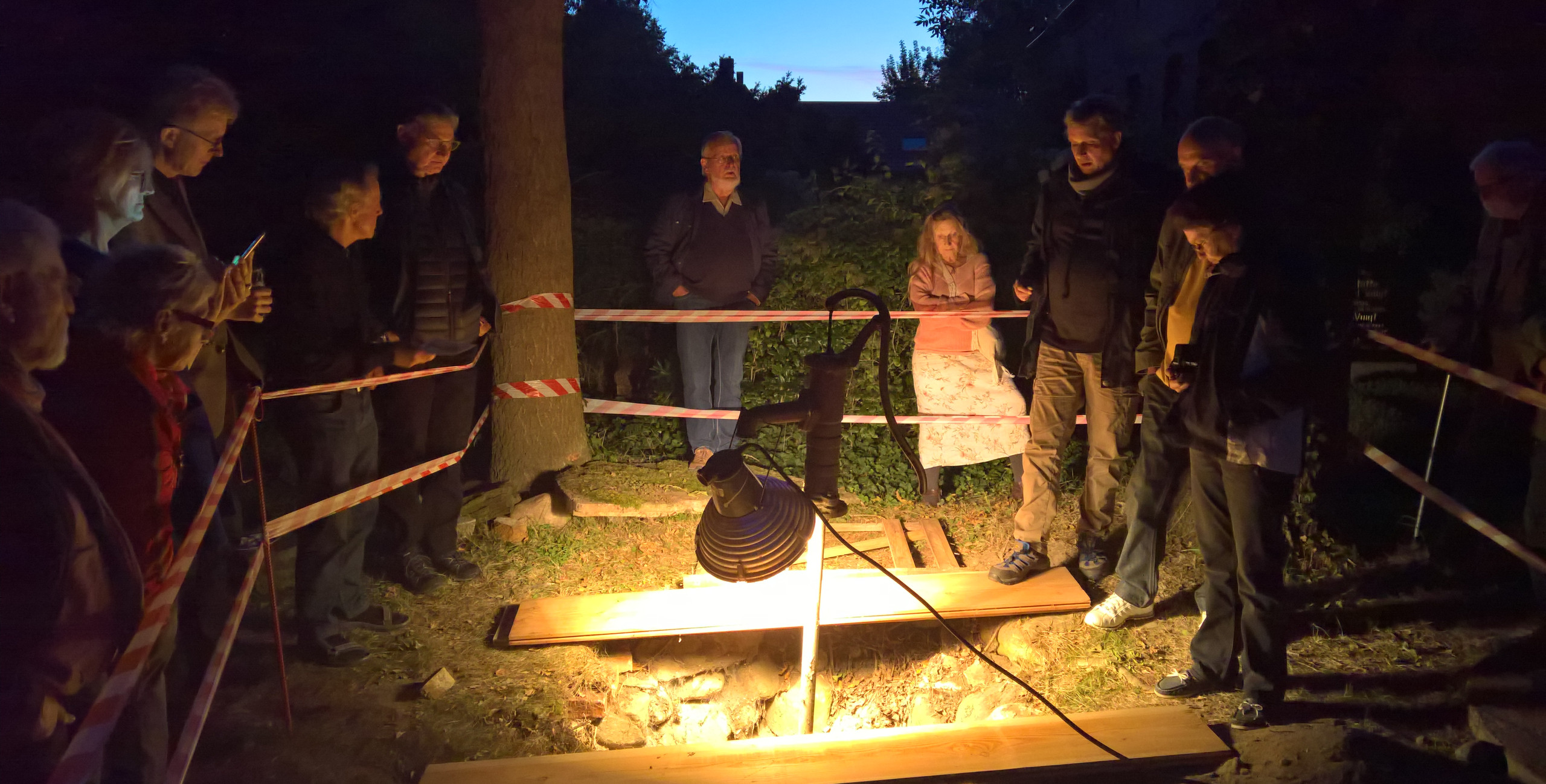 10 Jahre Förderverein Wallfahrtskirche Buckow - Brunnenerkenntnisse im Scheinwerferlicht