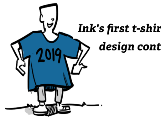 Ink's first t-shirt design contest!