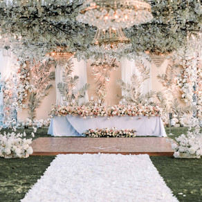 The wedding of Albert & Sharleen, at The Royal Santrian Villas, Nusa Dua, Bali