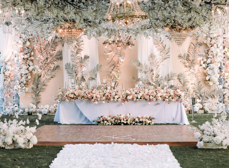 The wedding of Albert & Sharleen, at The Royal Santrian Villas, Nusa Dua, Bali