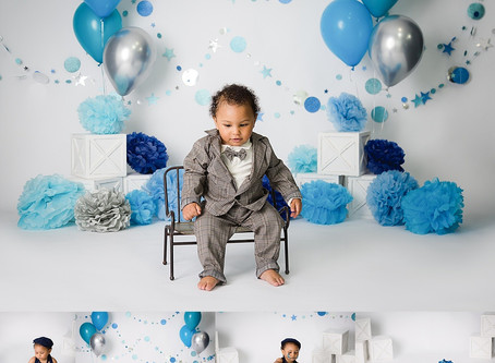 Cake Smash Session | UTAH MILESTONE PHOTOGRAPHER