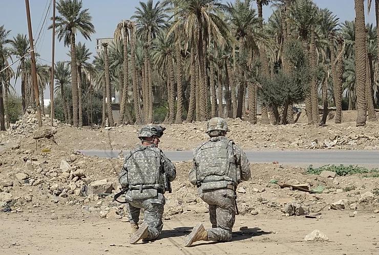 Een militair uit balans