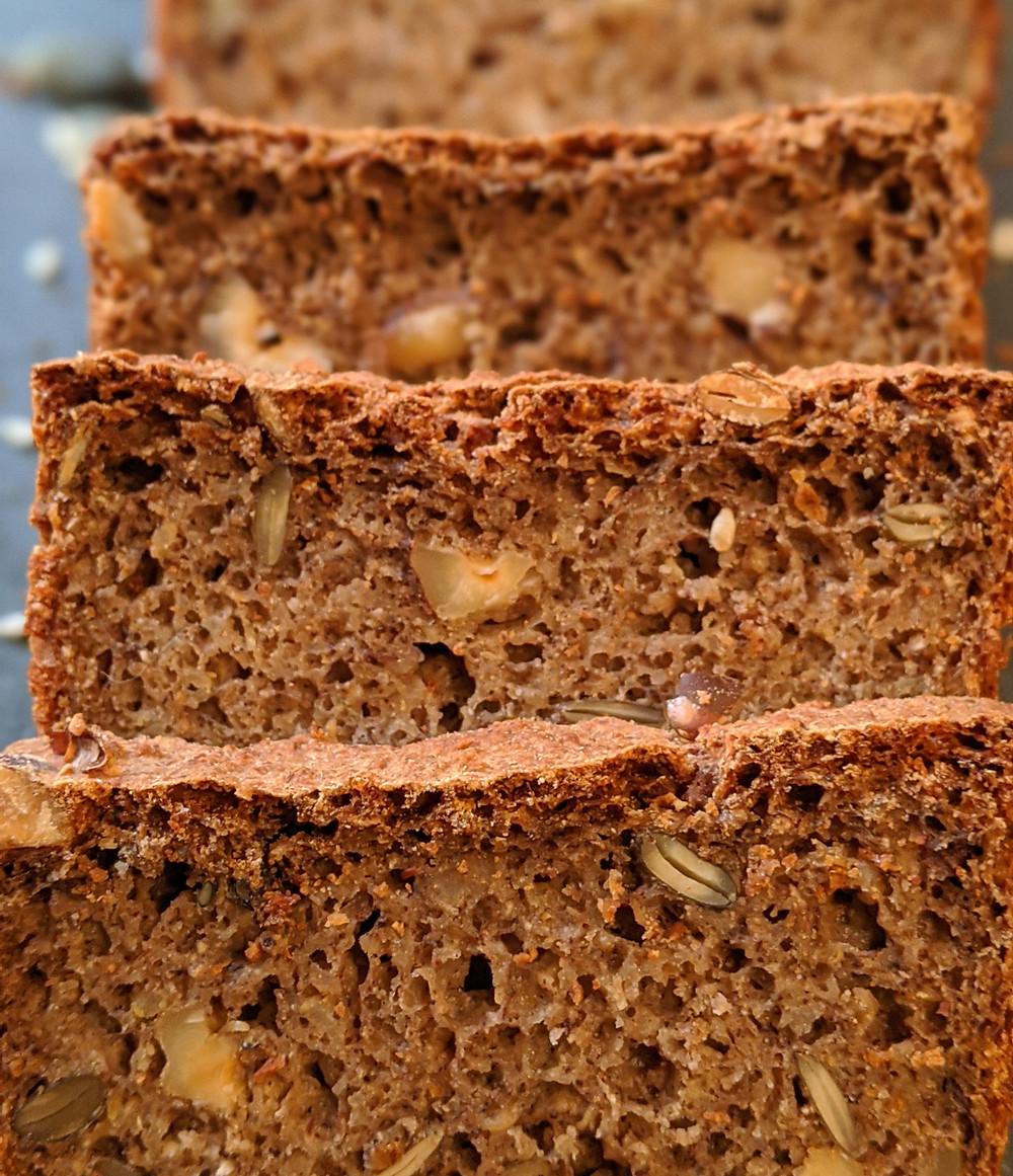 recette pain low fodmap maison sans gluten au levain