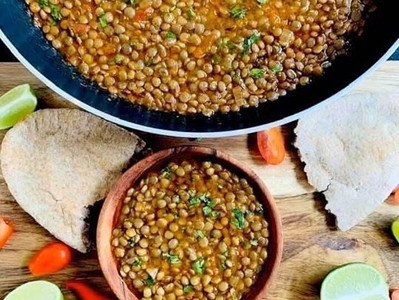 WHOLE MASOOR DAL (Vegan)