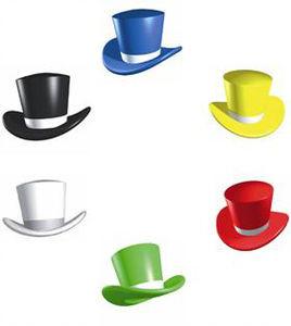Sex skemmtilegir hattar