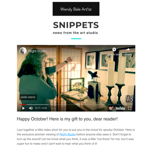 SNIPPETS: October edition