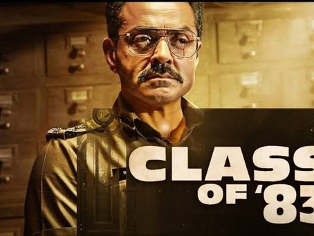 The Class of 83 : Film review