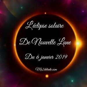 L'éclipse solaire de Nouvelle Lune du 6 janvier 2019