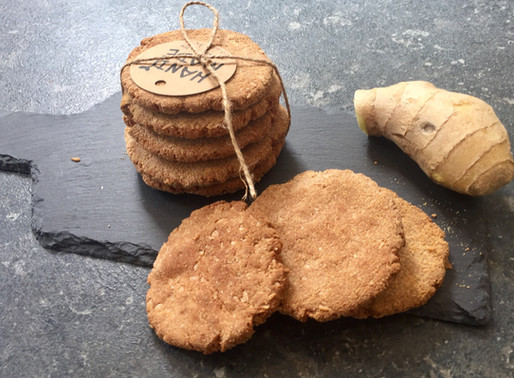 Ginger & Cinnamon Biscuits