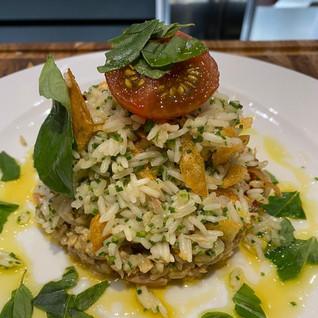Salada de Arroz com Atum e Tomate Tigre - por Chef Erick Jacquin