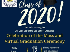 Honor and Celebrate the Class of 2020 with Us on June 12!
