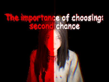 """The importance of choosing: second chance"": дата выхода, проблемы разработки, о самой игре."