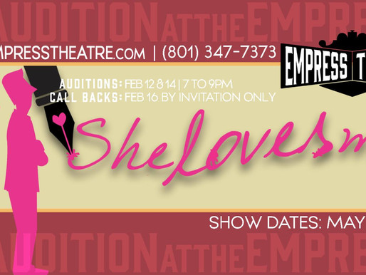 The Empress Presents: She Loves Me; and Shows You How to Write a Love Letter