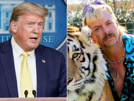 Joe Exotic wants a Presidential pardon; Because of course he does