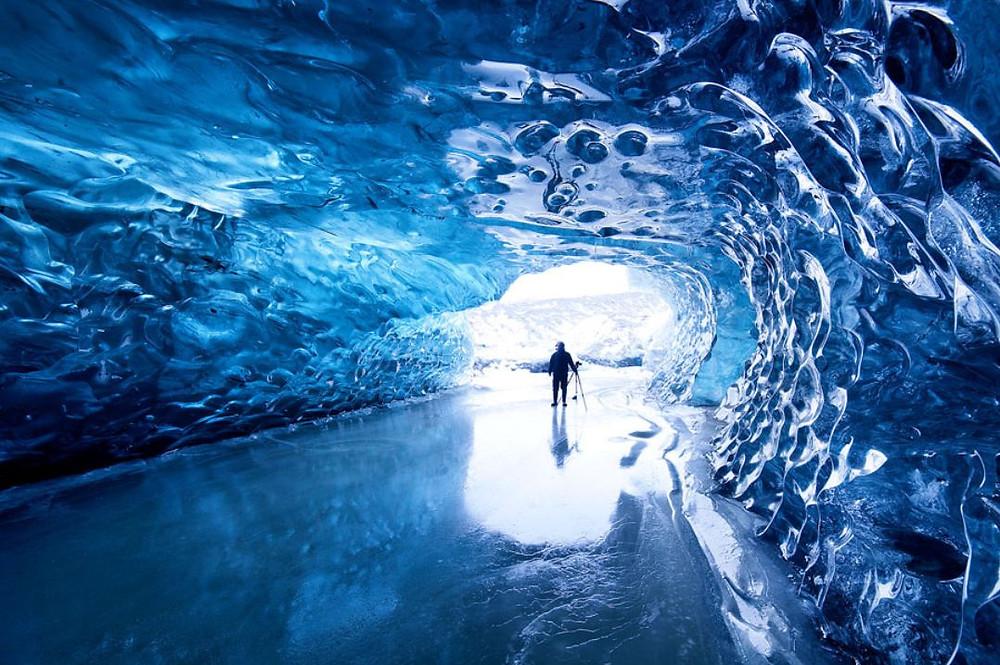 Les cavernes de glace de Vatnajökull en Islande