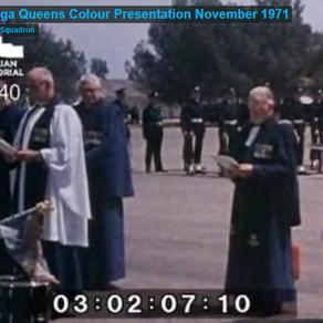 Queens Colour Presentation RAAF Wagga November 1971