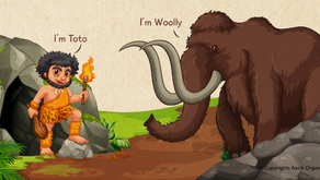 Woolly, the baby mammoth