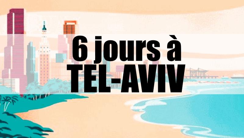 Tel aviv israel que voir que faire blog