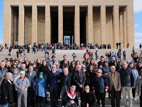 Anıtkabir Ziyaretimiz | Manevi Evlat Projesi