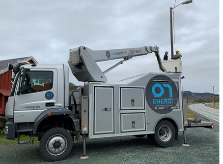 ON Energi oppgraderer gatelys i  Orkland kommune – gir betydelige besparelser og miljøgevinst